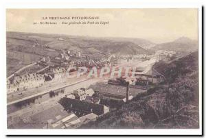 Saint Brieuc CARTE Postale General view of Old Bridge Legue (factories)