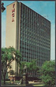 New Central YMCA,Milwaukee,WI Postcard BIN