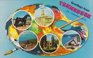 Greetings From Tennessee The Volunteer State