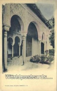 Generalife Galeria Exterior, Granada Spain Tarjeta Postal Unused