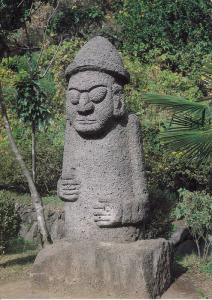 Stone Grandfathers (Tol-harubang) in Cheju Islands, South Korea, 50-70s