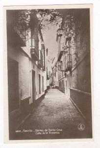 RP  Sevilla - Barrio de Santa Cruz,Calle de la Pimienta, SPAIN< 00-10s