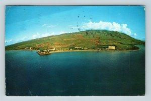 Maui HI, Kaanapali Resort, Ocean, Hawaii c1970 Postcard Z58