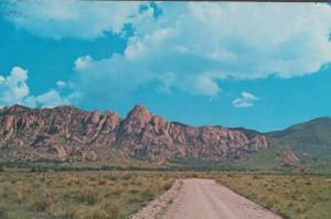 Dragoon Mountains Highway 80 Tombstone Arizona Postcard