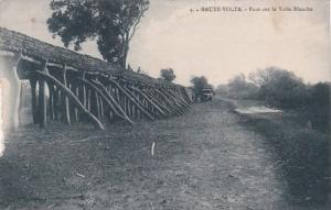 French Equatorial Africa Burkina Faso Haute Volta Pont sur la Volta Blanche 1934