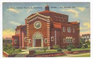St. Mary's Catholic Church, St. Petersburgh, Florida, 1930-1940s
