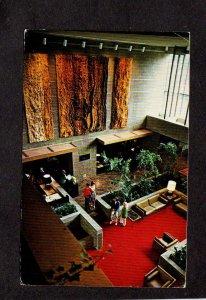 NY Corning Hilton Inn Hotel Interior View New York Postcard Finger Lakes Rgion