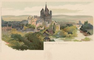 LIMBURG AN DER LAHN, Limburg-Weilburg, Germany, 1900-10s; Panorama