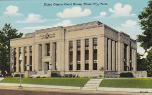 UNION CITY , Tennessee , 1930s ; Court House