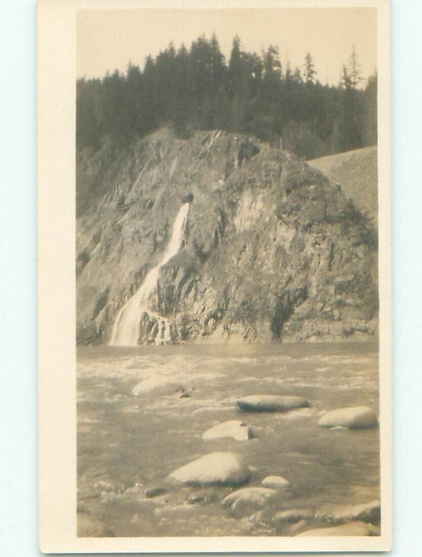 Pre-1918 rppc NICE VIEW Boothroyd Boston Bar & North Bend & Hope BC W1096