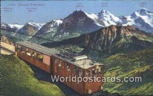 Munch Schynige Platte Bahn Swizerland Unused