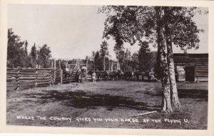 RP : Flying U dude ranch , Green Lake , B.C. , Canada , 10s-30s