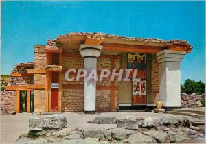 Postcard Modern Knossos The South Propylaea