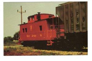 West Jersey Railroad Train Cab, Salem, New Jersey,