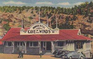 Entrance To The Cave Of The Winds, Manitou Springs, Colorado, 1930-1940s