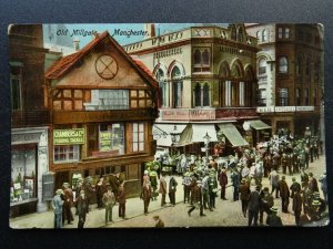 Manchester OLD MILLGATE shows CHAMBERS FISHING TACKLE SHOP Old Postcard by P.&G.