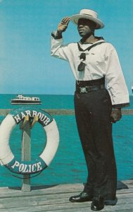 BRIDGETOWN , Barbados , B.W.I.,  1950-60s; The Harbour Police