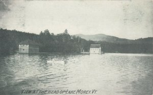 LAKE MOREY , Vermont , 1908 ; View at the Head