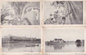Basra Iraq Hospital Boats Ashar Creek  4x Old Postcard s