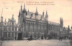 La Place du Bourg Bruges Belgium Unused