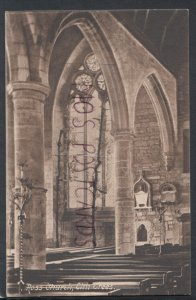 Herefordshire Postcard - Ross Church, Elm Trees    RS17264
