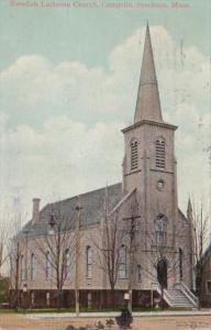 Massachusetts Brockton Swedish Lutheran Church Campello 1911