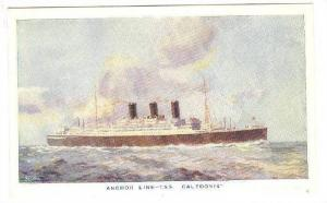 Ocean Liners , Anchor Line , T.S.S. CALEDONIA , 10-30s