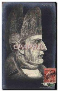 Old Postcard Surrealism Napoleon 1st Army TOP