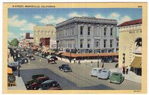 Marysville, California, D Street
