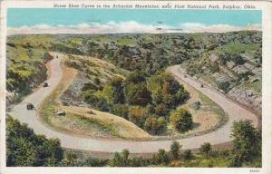 Oklahoma Sulphur Horse Shoe Curve In The Arbuckle Mountains Near Platt Nation...