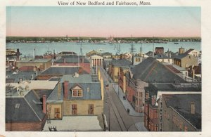 View of NEW BEDFORD and FAIRHAVEN, Massachusetts, 1900-10s
