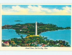 Pre-1980 AERIAL VIEW Put-In-Bay On South Bass Island - Near Sandusky OH AC9528