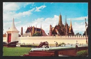 Grand Palace Scene Bangkok Thailand unused c1950's