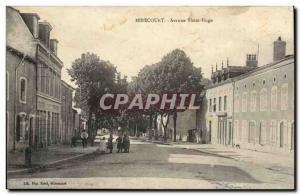 Mirecourt Old Postcard Avenue Victor Hugo