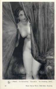 Nude in art Antoine Wietz museum Brussels - Expectation