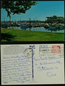 Oak Bay Marina-Victoria BC 1967