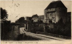 CPA CAEN - Le Chateau - PoSte-de Secours (515755)