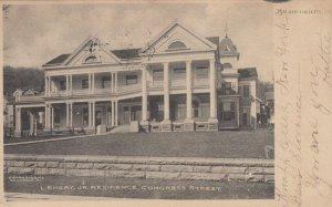 BRADFORD , Pennsylvania , 1907 ; L. Emery Jr. Residence, Congress Street
