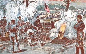 Coehorn Mortars, Battle of Cold Harbor Civil War Unused