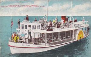 California Santa Catalina Island Glass Bottom Boat Empress