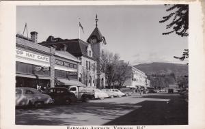RP: Barnard Avenue , VERNON , B.C. , Canada , 1930-40s Vernon Drug Store