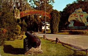 Florida St Augustine Fountain Of Youth San Marco Avenue Entrance 1973