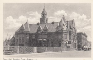 CARLETON PLACE, Ontario , Canada , 1930s; Town Hall