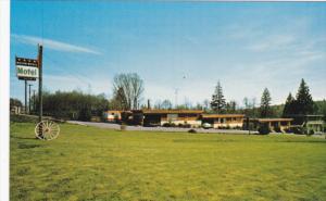Wagon Wheel Motel , BURNABY , B.C. , Canada , 50-60s