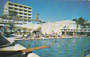 The Sea Gull Hotel Pool And Cabana Colony Miami Beach Florida