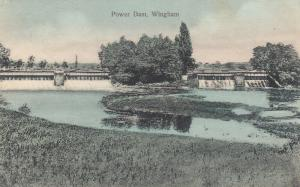 WINGHAM , Ontario , 1908 ; Power Dam