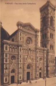 Italy Firenze Florence Facciata della Cattedrale