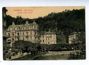 191740 GERMANY KARLSBAD Grand Hotel Pupp Vintage postcard