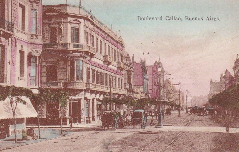 BUENOS AIRES, Argentina, 00-10s ; Boulevard Callao