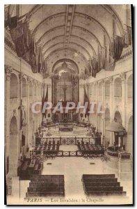 Postcard Old Paris Invalides Chapel